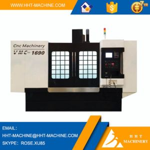 Vmc 1690 Hot Sale Vertical CNC Milling Machine with Bt50/190 Spindle Taper