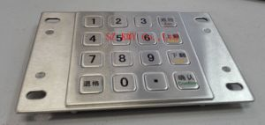Des/Tdes Encrypted Metal Keypad (KMY3501B) pictures & photos
