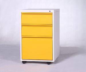 China 3 Drawer Mobile Filing Cabinet