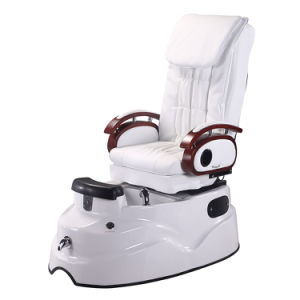 Swell Reclining Pedicure Chair All White Promotion Backrest Kneading Massage Ibusinesslaw Wood Chair Design Ideas Ibusinesslaworg