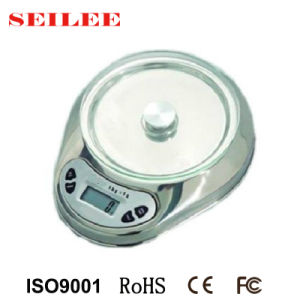Stainless Steel 5kg Electronic Kitchen Scale pictures & photos