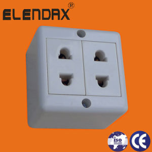 European Style Surface Mounted Switch Socket Outlet (S2019) pictures & photos