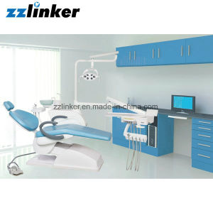 Lk-A14 Low Mounted LED Lamp Complete Dental Chair pictures & photos