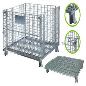 Australia Storage Metal Steel Wire Mesh Pallet Stillage Container pictures & photos