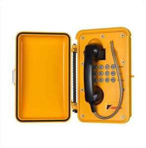 IP Telephone with Full Keypad Support IP66 Weatherproof Telephone pictures & photos
