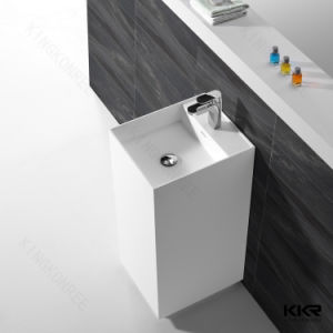 Commercial Resin Freestanding Hand Wash Basin pictures & photos