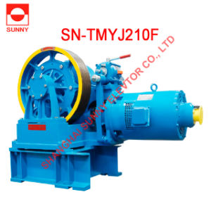 Gear Traction Machine (SN-TMYJ210F 630-1000kg, 1m/s) pictures & photos