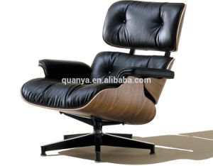 Super Classical Style Pu Genuine Leather Leisure Incline Charles Couch Eames Lounge Chair Cjindustries Chair Design For Home Cjindustriesco