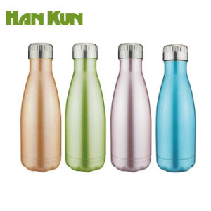 74282702c51 350ml 500ml Double Wall Stainless Steel Vacuum Insulated Deluxe Cola Shape  Sports Water Bottle