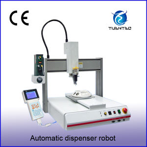 Automatic PCB Board Glue Dispenser Robot (PY-440D) pictures & photos