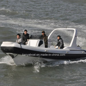 Liya 7.5m Hypalon Inflatable Boat Rib Boats China for Sale pictures & photos