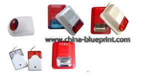 Fire Alarm Detector Wired Fire Flash Light Srien Fire Cntrol pictures & photos