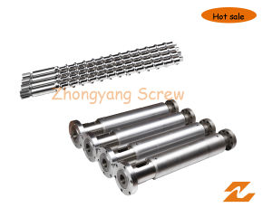 Hot Feed Screw and Barrel for Rubber Extruder pictures & photos