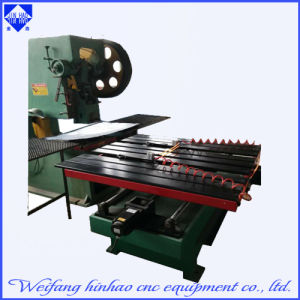 Numerical Computer Numerical Control Sheet Machine Punching for Card Board