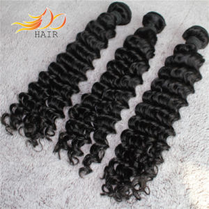 2016 Deep Wave Natural Color Virgin Indian Human Hair Extensions pictures & photos