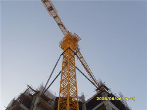 8t Factory Supplied Ce Self Erecting Tower Crane pictures & photos