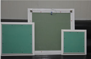 Good Quality and Lower Price Aluminum Gypsum Board Access Panel /Access Door with Push Lock (AP001 600X600mm)