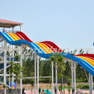 Rainbow Water Slide with Slip Carpet pictures & photos