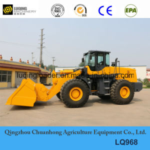 Heavy Duty Rock Bucket Wheel Loader (LQ968) pictures & photos