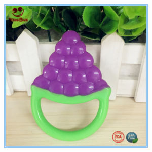 Colorful Safety Dummy Grape Shaped Teether pictures & photos