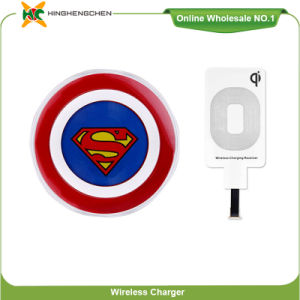 Cartoon Series Superman Wireless Charger for Brand Phone pictures & photos