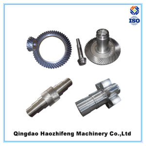 OEM Big Heavy Duty Helical Bevel Gear pictures & photos