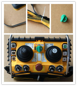 24V DC F24-60 Dual Joystick Industrial Radio Remote Control for Tower Crane pictures & photos