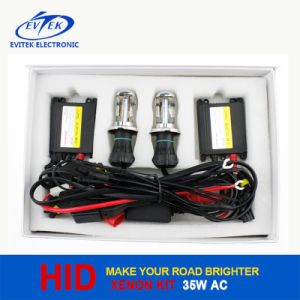 35W H7 H4 H/L HID Lamp DC HID Xenon Conversion Kit with Slim Ballast pictures & photos