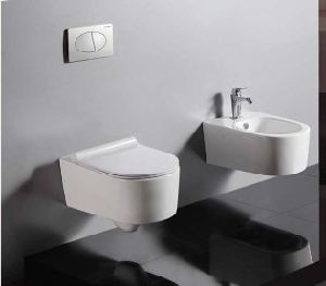 P-Trap Washdown Wall Hung Toilet (W1048) pictures & photos