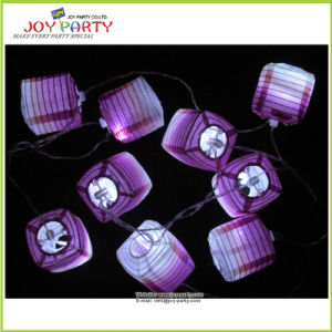 "3"" Paper Lantern String Fairy Light Party Decoration"