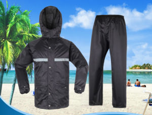Outdoor Hiking Fishing Waterproof Labor Protection Two-Part Duty Rain Clothes