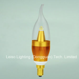 E14/B15 5W Scob CREE Chips 330degree LED Candle Lamp (J) pictures & photos