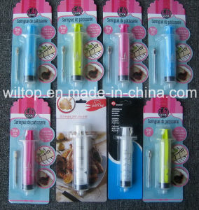 Plastic Party Seasoning Syringe with Needle (HW012) pictures & photos