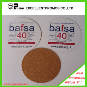 Best Selling Logo Printed Top Quality Cork Coaster (EP-C8270A) pictures & photos