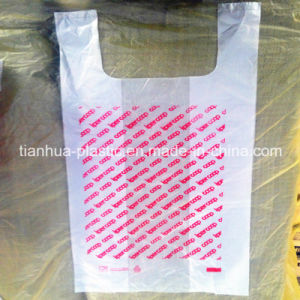 T-Shirt Roll Plastic Bags with Printing