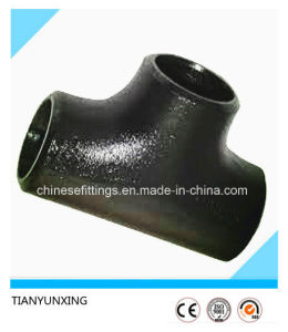 ANSI 16.9 Carbon Steel Pipe Fittings Seamless Buttweld Tee pictures & photos