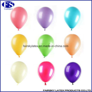 Metallic Balloons with Air Inflate Balloons Pearl Color Balloons pictures & photos