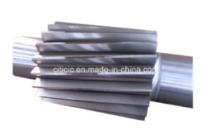 Pinion Shaft for Ratory Kiln and Rotary Dryer Transmission pictures & photos