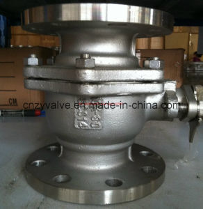 "ANSI 4"" 300lb Wcb Peek Sealed Ball Valve (Q41PEEK-300LB-4"") pictures & photos"