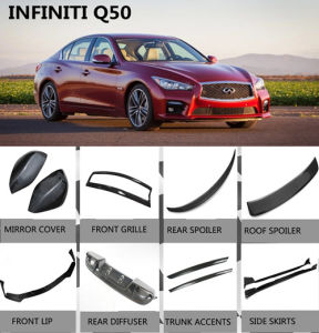Car Body Kits >> Car Body Kits For Infiniti Q50 Carbon Fiber Parts