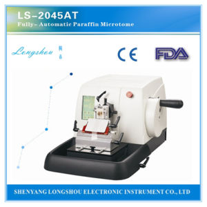 Longshou OEM Semi-Auto Paraffin Microtome Ls-2045at pictures & photos