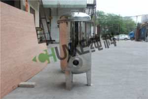 10t-100t Flange Water Treatment SS304 Bag Filter Housing pictures & photos