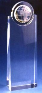 Optical Crystal Trophy