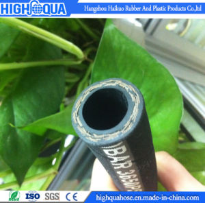 Industry Rubber High Pressure Hydraulic Hose, Cloth Surface Flexible Hose pictures & photos