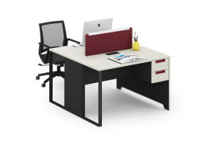 Standard Sizes 2 Person Open Space Modern Furniture Modular Office  Workstation