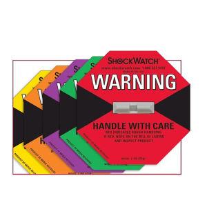 china damage indicator label shipping label shockaction impact
