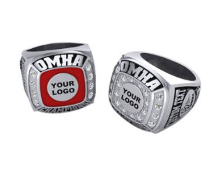 Youth Football Sport Custom Championship Champions Rings for Men