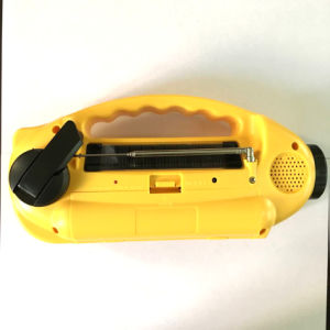 Siren Camping Mobile Charge Dynamo Radio Solar pictures & photos