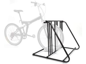 China Hd Steel 1 6 Bikes Floor Mount Bicycle Park Storage Parking