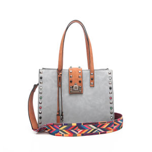 68f75535808 2018 New Fashion Woman Shoulder Bags Famous Brand Luxury Handbags Women Bags  High Quality PU Totes